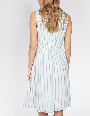 Suki Stripe Shirt Dress