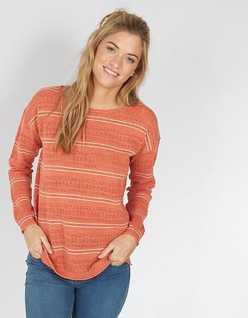 Polzeath Stripe Sweater