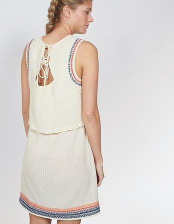 Jemima Embroidered Layer Dress