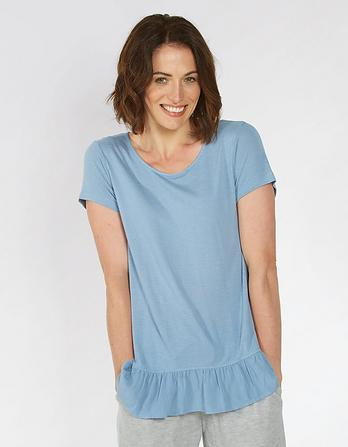 Frill Peplum T-Shirt