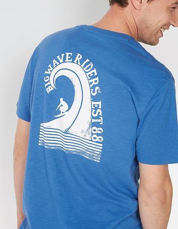 Big Wave Graphic T-Shirt