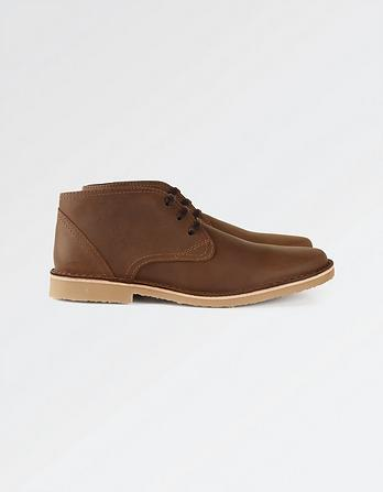 Dalby Leather Desert Boots