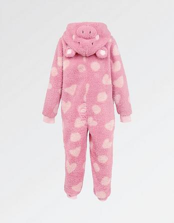 Piglet Fleece Onesie