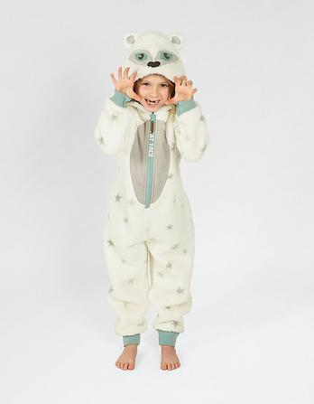 Arctic Fox Fleece Onesie