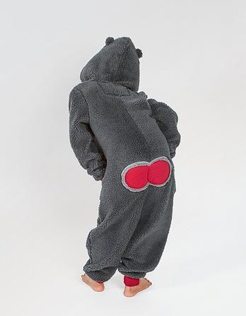 Baboon Fleece Onesie