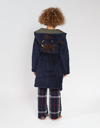 Bison Dressing Gown