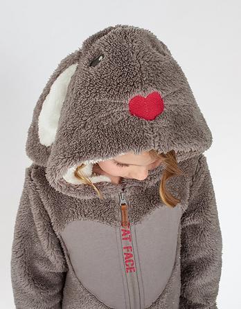 Bunny Fleece Onesie