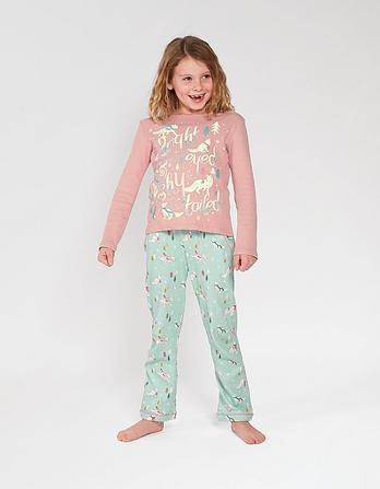 Arctic Fox Glow In The Dark Pyjama Set