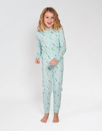 Arctic Fox Glow In The Dark Onesie