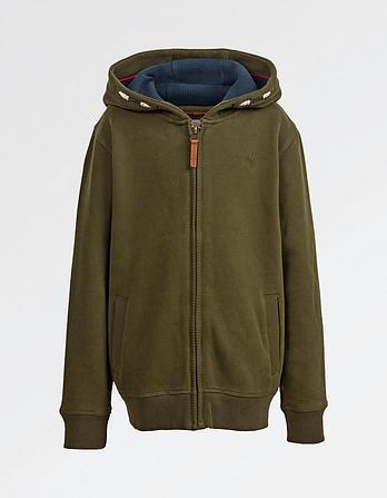 Woolly Mammoth Zip Thru Hoody