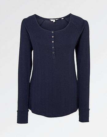 Skye Rib Henley T-Shirt