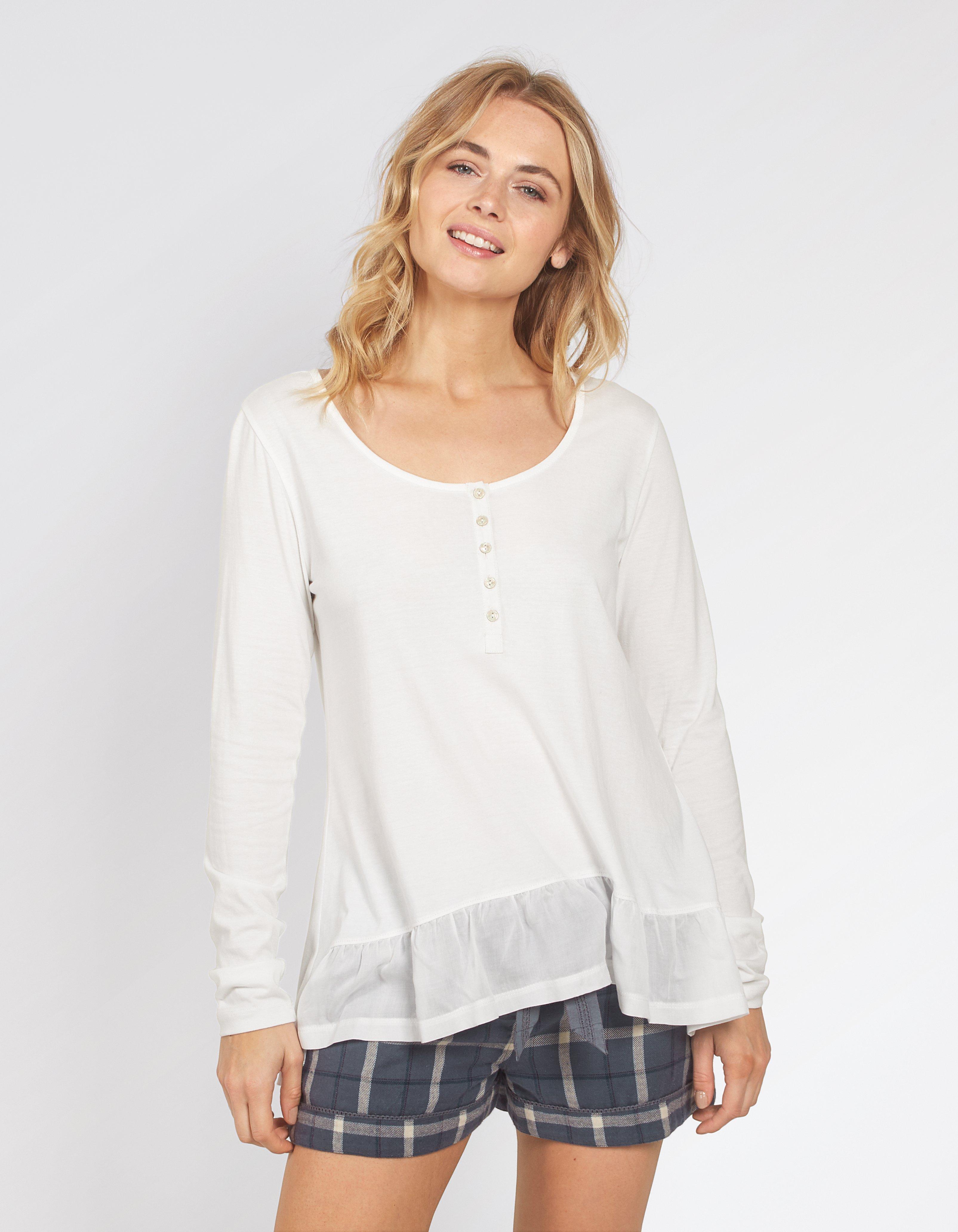 Priya Peplum T Shirt