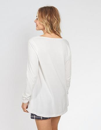 Priya Peplum T-Shirt