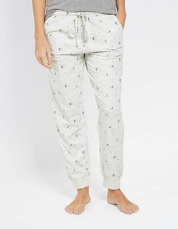 Luna Sky Cuffed Lounge Pants