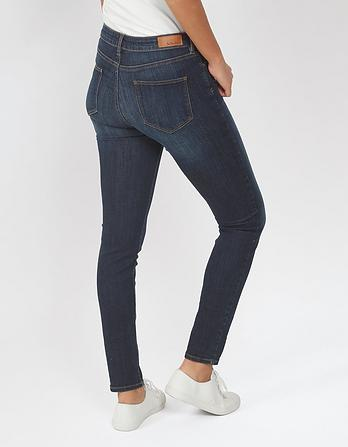 Ink Blue Super Skinny Jeans