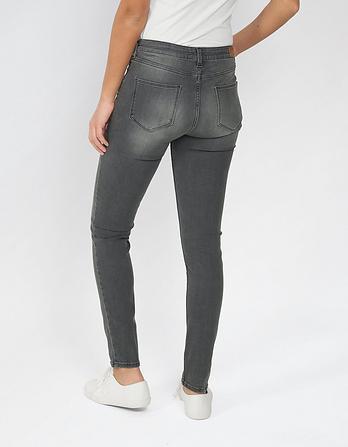 Vintage Grey Super Skinny Jeans