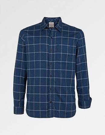 Panshill Windowpane Check Shirt