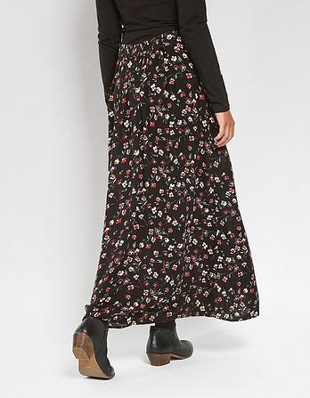 Keeley Poppy Meadow Maxi Skirt