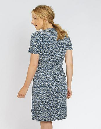 Georgia Floral Wrap Dress