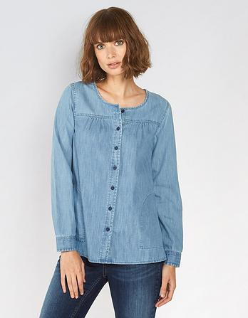 Tessa Chambray Blouse