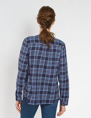 Tessa Check Blouse
