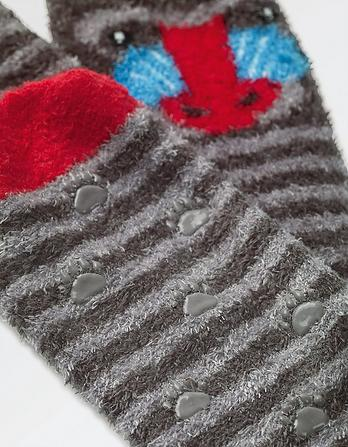 Fluffy Baboon Socks