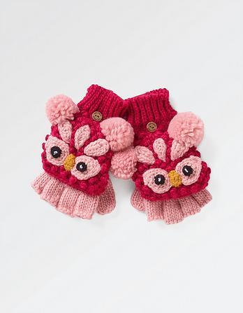 Owl Mittens