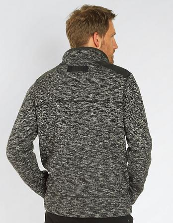Dalton Knitted Half Neck Sweatshirt