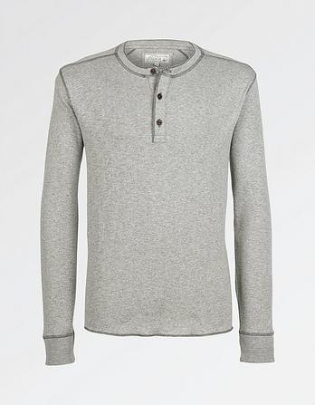 Rib Henley T-Shirt