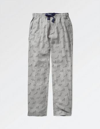Fox Print Lounge Pants