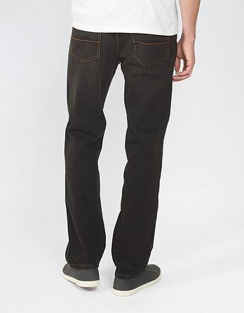 Black Straight Jeans