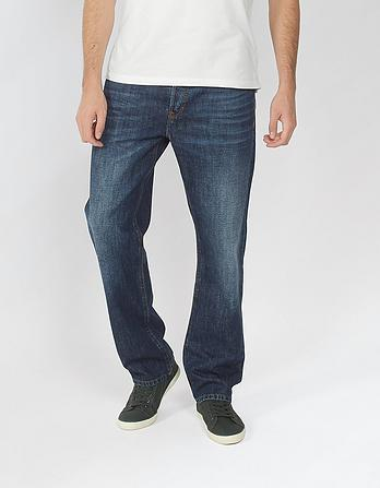 Boys Mid Wash Slim Jeans Fat Face