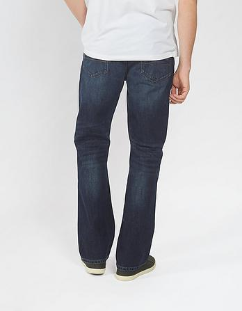 Raw Rinse Bootcut Jeans