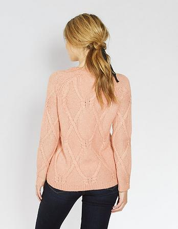 Jessica Cable Sweater
