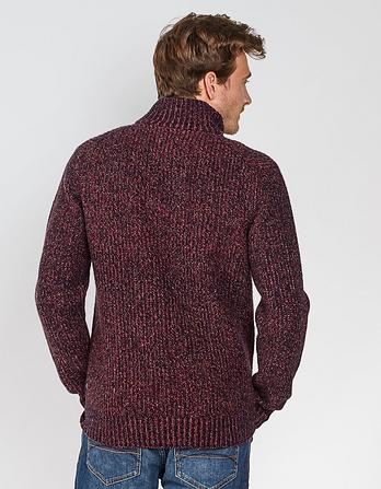 Twisted Half Neck Jumper