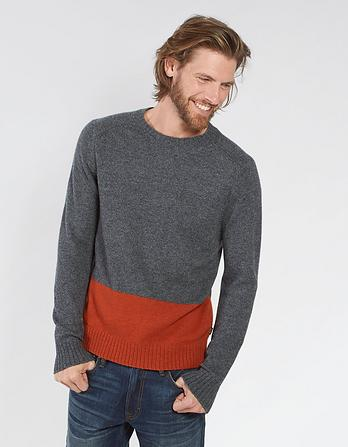Denton Colour Block Jumper
