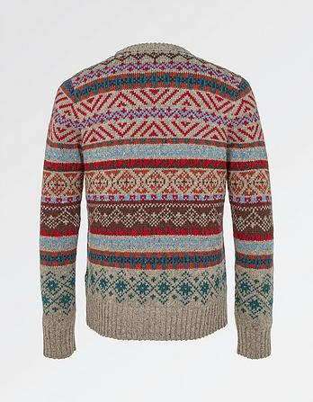 Retro Fairisle Christmas Jumper