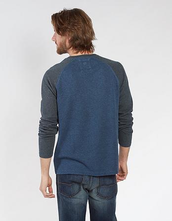 Pique Contrast Raglan T-Shirt