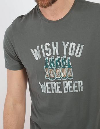 Beer Organic Cotton Graphic T-Shirt