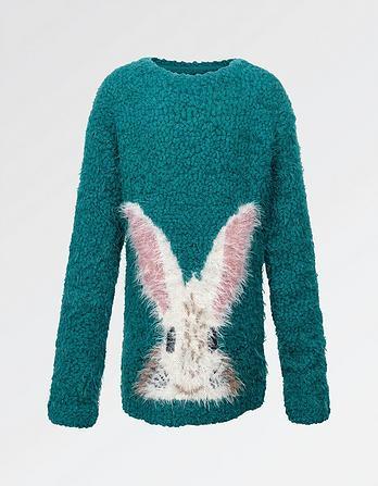 Bunny Crew Neck Sweater