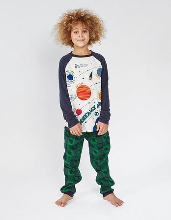 Alien Check Pyjama Set
