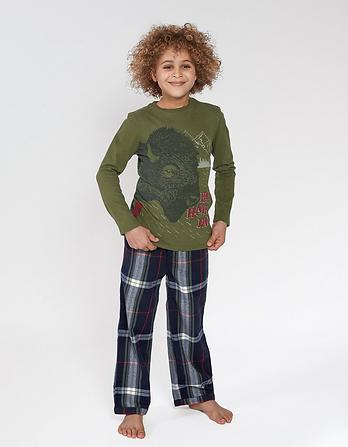 Bison Check Pyjama Set