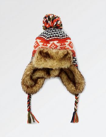 Nordic Fairisle Trapper