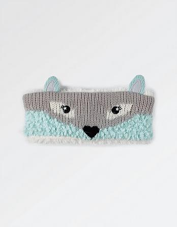 Arctic Fox Headband