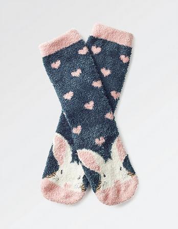 Fluffy Bunny Socks