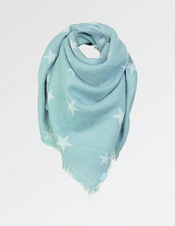 Star Midweight Square Scarf