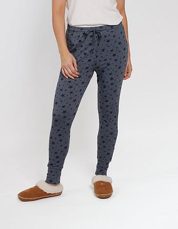 Sketched Stars Jersey Leggings
