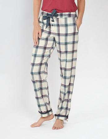 Ginny Grid Check Lounge Pants