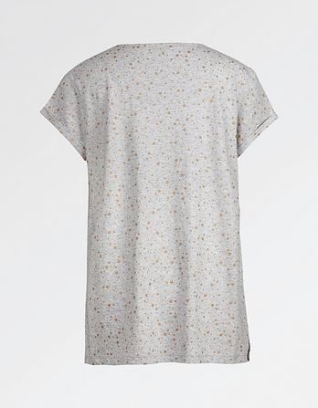 Printed Star T-Shirt