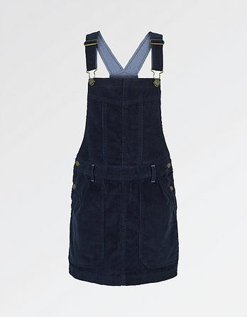 Cord Dungaree Dress